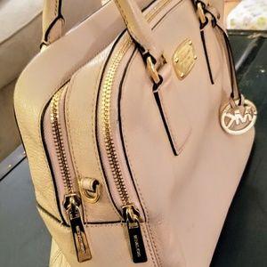 Michael Kors Double Zip Leather Handbag